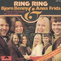 Cover Björn Benny & Anna Frida - Ring Ring [deutsch]